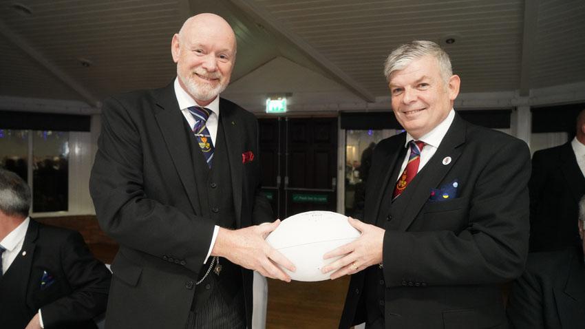 Gareth Jones OBE and Paul Haley